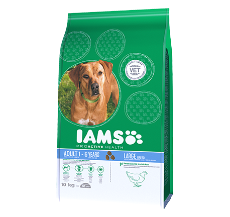 Iams® PROACTIVE HEALTH Adult Large breed Rich in Chicken